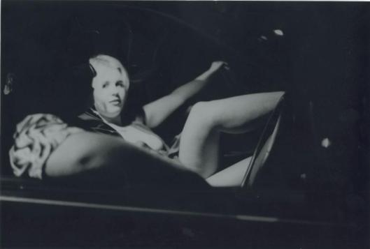 en el coche